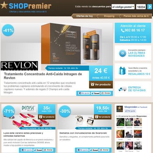 Ir a SHOPremier.com